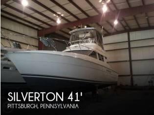 Silverton 41 Convertible