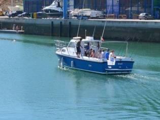 Barco de Pesca desportiva e Negócio