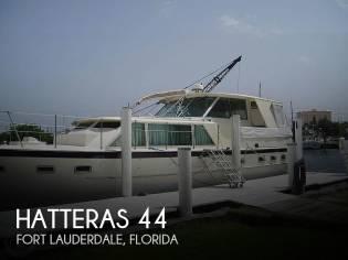 Hatteras 44 Tri - cabin