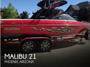 Malibu 21 Wakesetter VLX