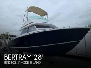 Bertram 28 Sedan Sport Fisherman