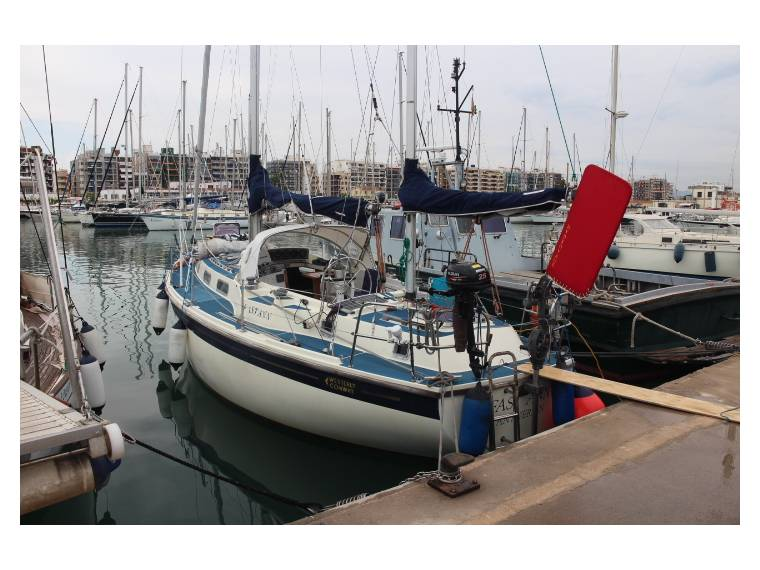 Westerly Conway 36 ketch