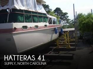 Hatteras 41 Double Cabin