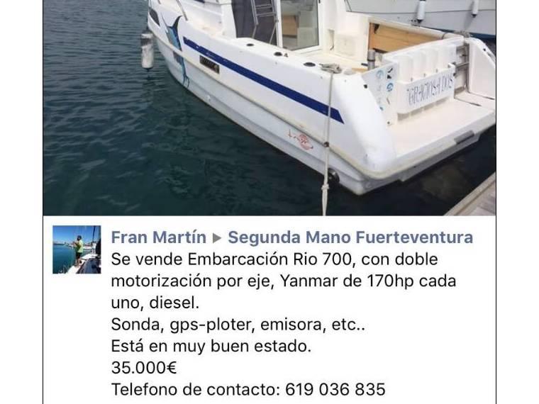 Rio 800 Cabin Fish
