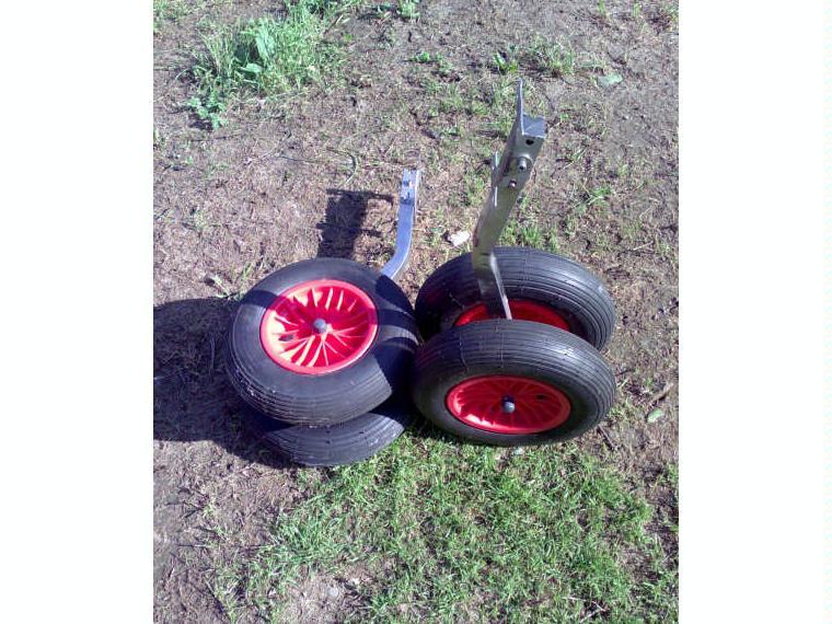 ruedas de botadura