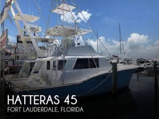 Hatteras 45