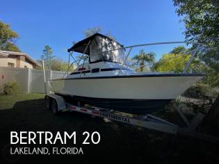 Bertram 20 Bahia Mar