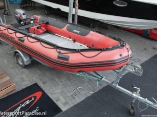 Quicksilver 430 Alufloor (+motor + trailer)