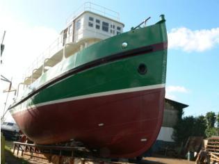Tug on conversion rimorchiatore yacht Ch.Ziegler F