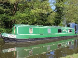 Narrowboat 45' South West Durham Steel