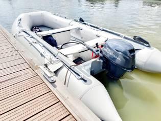 Compleet Rubberboot met Motor 20 pk