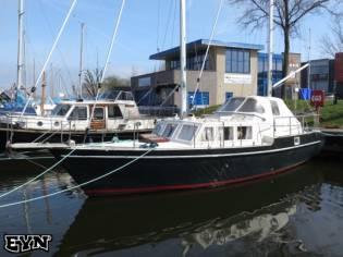 one off van der Stadt zeilboot center cockpit