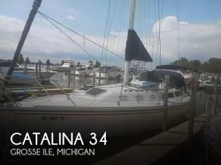 Catalina C 34 Tall Rig Wing Keel