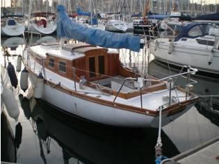 Barco de madera 8 metros