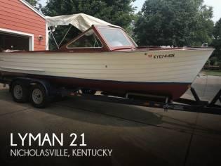 Lyman 21 Inboard-Outboard
