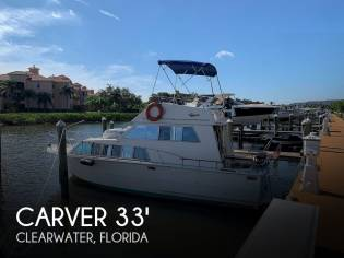 Carver 33 foot Voyager