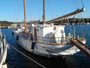 Baglietto Motorsailer Bermudan Ketch