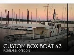 Custom Box Boat 63