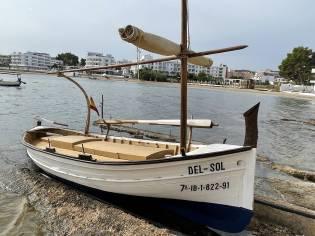 Llaut de Pesca de Madera 24 palmos 4.8m
