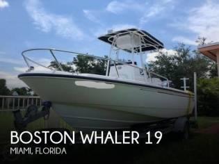 Boston Whaler 190 Nantucket