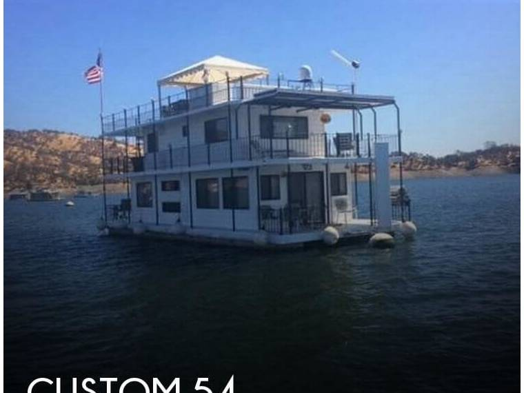20 x 54 Lake McClure 2-story Houseboat