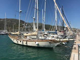 Tung Hwa 63 Foot Blue Water Ketch Yacht