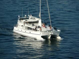 Custom Sailing Trimaran 55