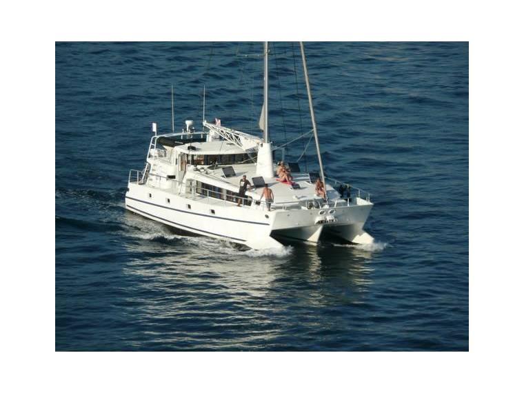 Sailing Trimaran 55