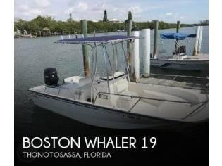 Boston Whaler Montauk 190