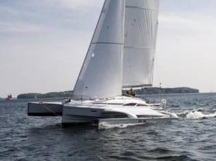 Dragonfly 32 Supreme em França   Catamarans a vela usados