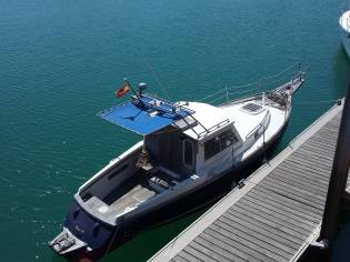 Barco a motor Cornish Crabber