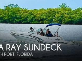 Sea Ray sundeck 190