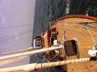 Barco Velero Clasico de madera
