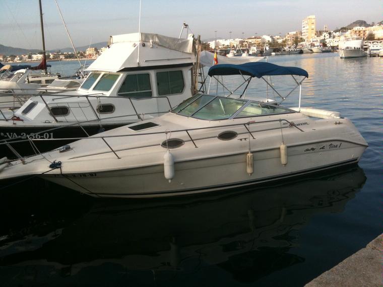 sea ray 250 sundancer en pto dptivo pobla marina