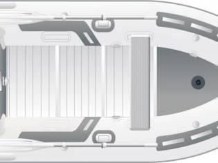 ZODIAC CADET 360 RIB ALU DL PVC