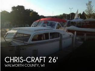 Chris-Craft Sea Skiff 26 Cabin Cruiser
