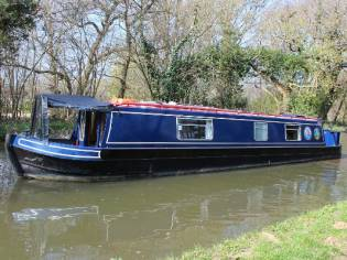 Narrowboat 42' Cruiser Stern