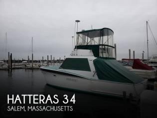 Hatteras 34 Convertible