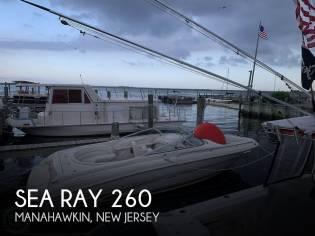 Sea Ray 260 Select Signature