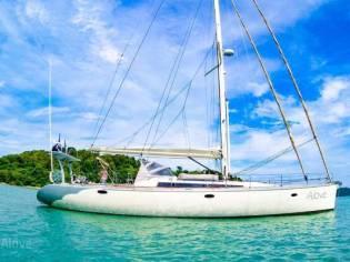 Custom French build Sail Yacht