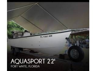 Aquasport 222 Open Fisherman