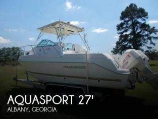 Aquasport 275 Walkaround