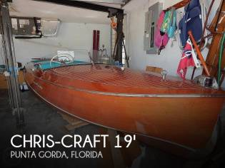 Chris-Craft Racing Runabout