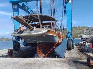 Turkish Ketch motor sailer