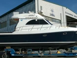barca da pesca sagene 40 fly custom