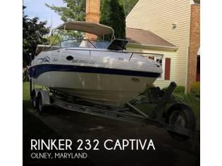 Rinker 232 Captiva