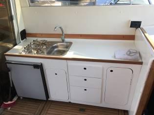 Sea World 28 cabin