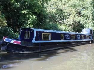Narrowboat 57' Dave Clarke Cruiser Stern