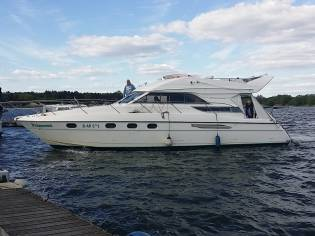 Princess 440 Flybridge, ein besonderes Boot (HK)