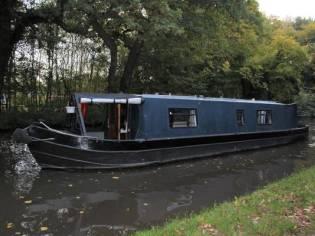 Narrowboat 40' Eggbridge Semi Trad Stern
